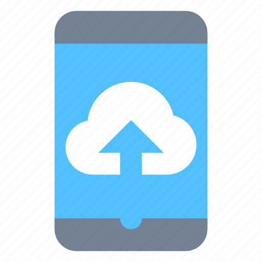 cloud, mobile, sync icon
