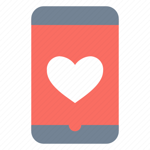 Love, mobile, dating icon - Download on Iconfinder