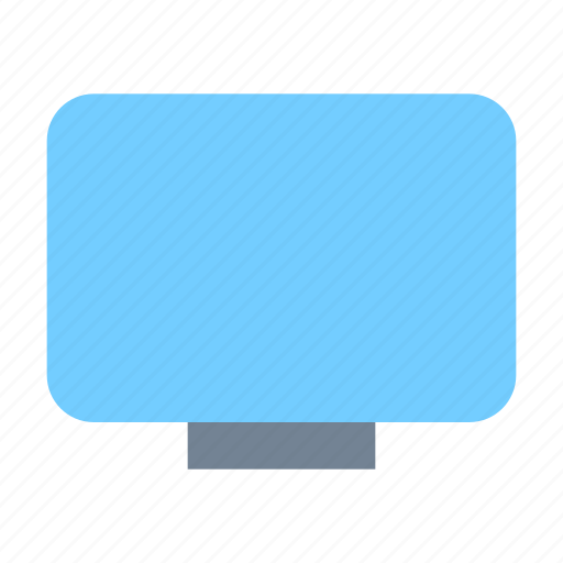 monitor, tv icon