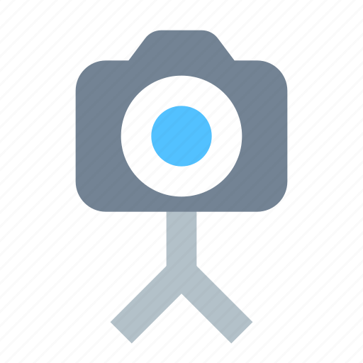 Camera, photo, tripod icon - Download on Iconfinder