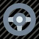 game, wheel icon