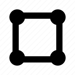 lattice, network, structure icon