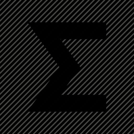 amount, database, sheet, sum, table icon