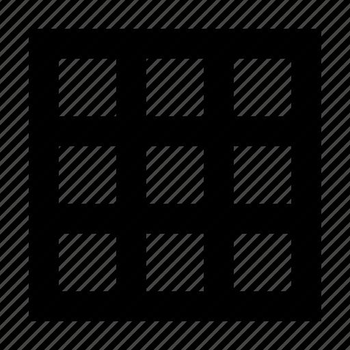 database, matrix, sheet, table icon