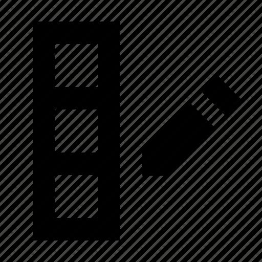 column, database, edit icon