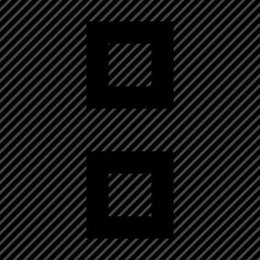 cell, delete, matrix icon