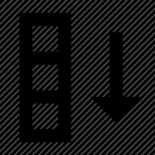 column, database, sort icon