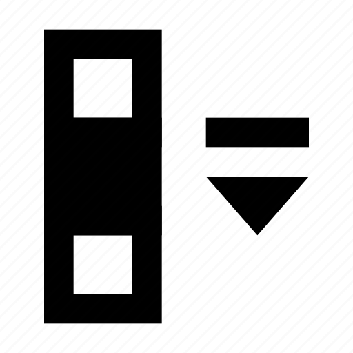cell, center, database, matrix, middle, spreadsheet icon