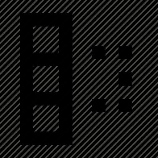 cell, cells, database, matrix, select, spreadsheet icon