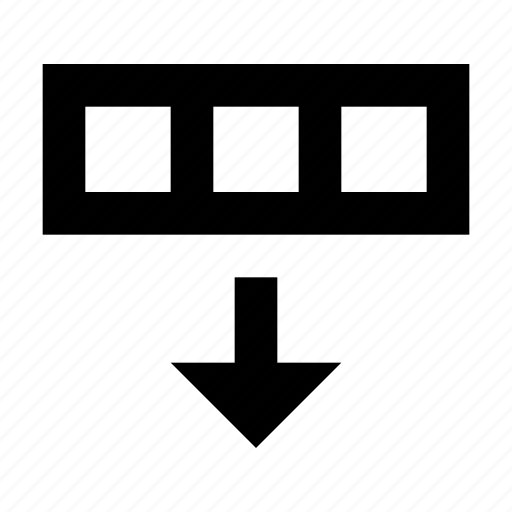 export, row icon