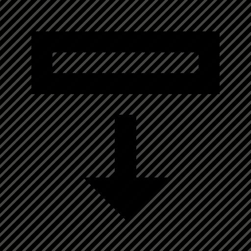 database, export, row icon