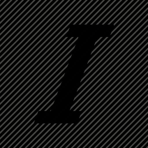 font, format, italic, text icon