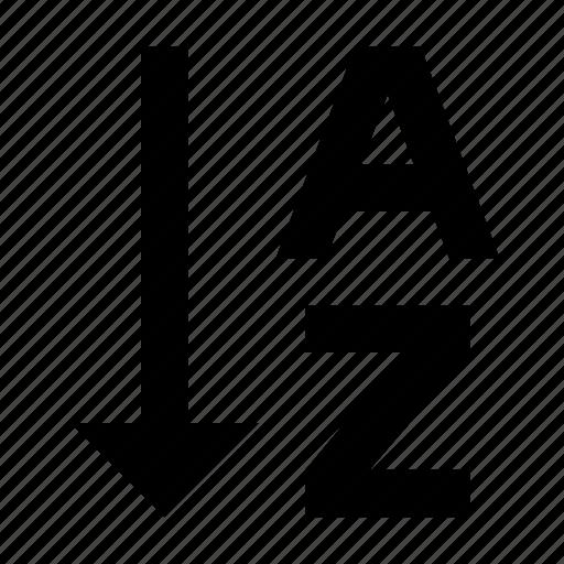 Alphabetical, order, sort, sorting icon - Download on Iconfinder