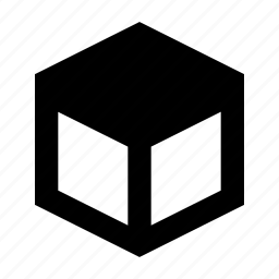 cube, design, edge, product, tool, top icon