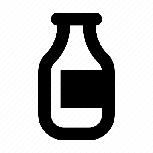 bottle, cream, milk icon