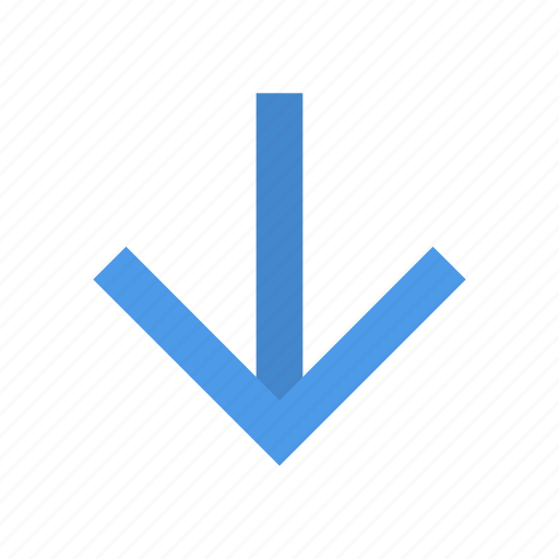 Arrow, down, end icon - Download on Iconfinder on Iconfinder