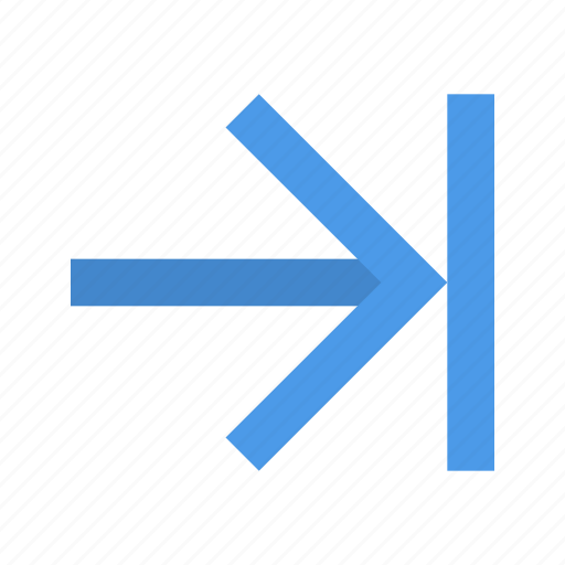 Arrow, end, right icon - Download on Iconfinder