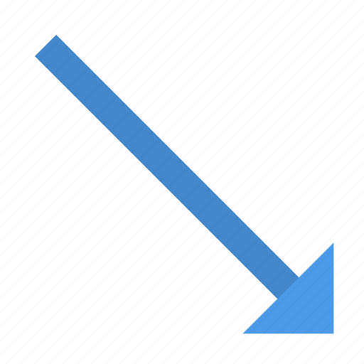 Arrow, down, right icon - Download on Iconfinder