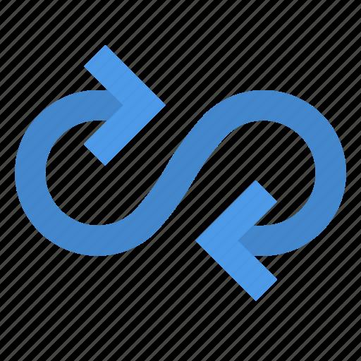 Arrow, loop icon - Download on Iconfinder on Iconfinder