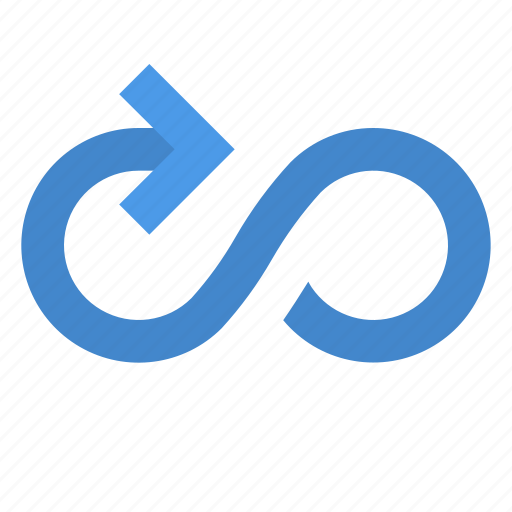 Arrow, cycle, infinity icon - Download on Iconfinder