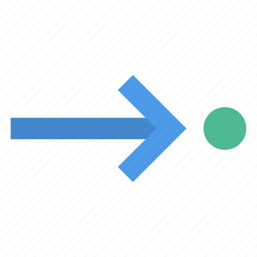 Right, route, destination icon - Download on Iconfinder