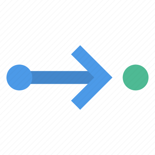 Arrow, right, route icon - Download on Iconfinder