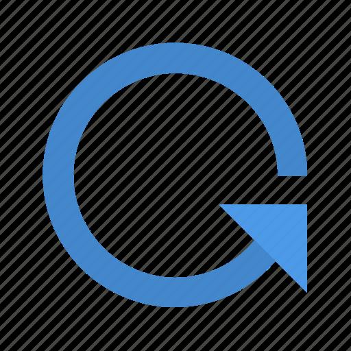 arrow, degree icon