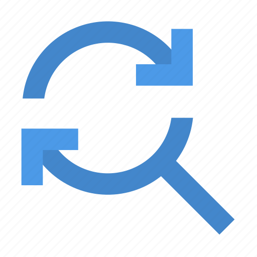 find, reload icon