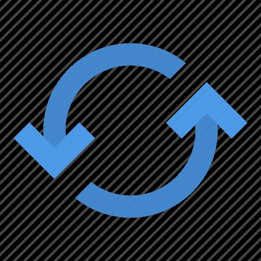rotate, synchronization icon