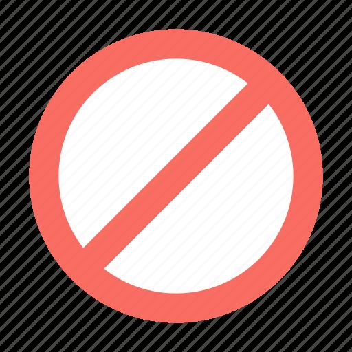 Cancel, forbidden icon - Download on Iconfinder