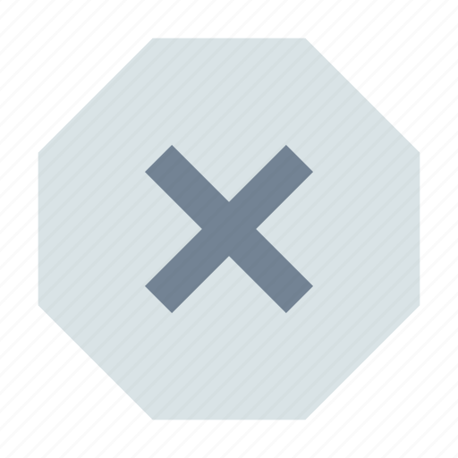 Delete, stop, octagon icon - Download on Iconfinder