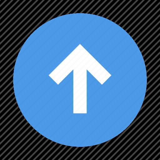 Arrow, up, round icon - Download on Iconfinder on Iconfinder