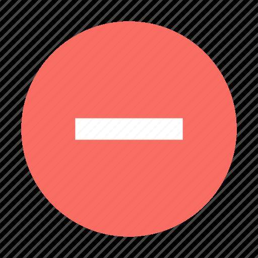 Delete, minus, round icon - Download on Iconfinder