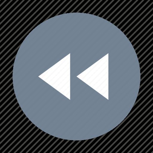 Rewind, backward, round icon - Download on Iconfinder