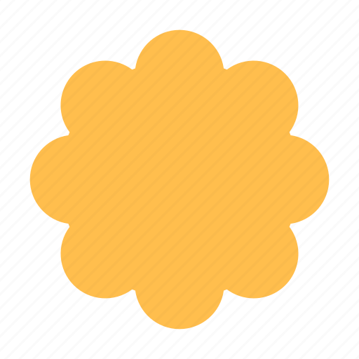 Badge, bonus, flower icon - Download on Iconfinder