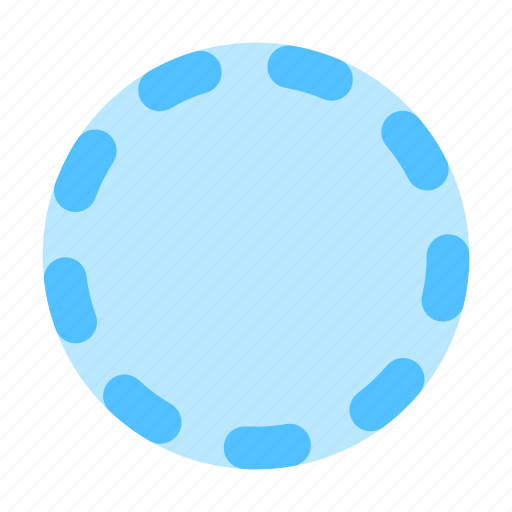 Badge, stroke, dots icon - Download on Iconfinder