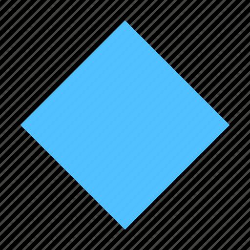 Rhombus icon - Download on Iconfinder on Iconfinder