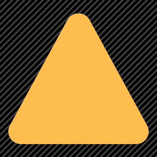 Triangle, round icon - Download on Iconfinder on Iconfinder