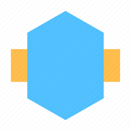 Badge, hexagon, label icon - Download on Iconfinder