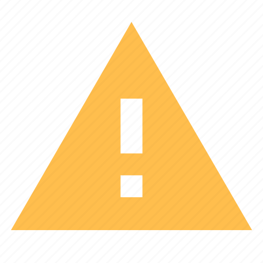 Alert, exclamation, triangle icon - Download on Iconfinder