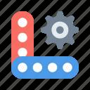 kit, meccano, toy icon