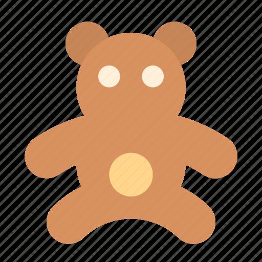 bear, toy icon