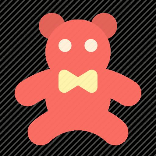 present, teddy icon
