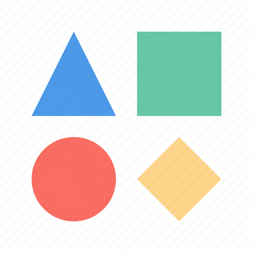baby, geometric, toy icon