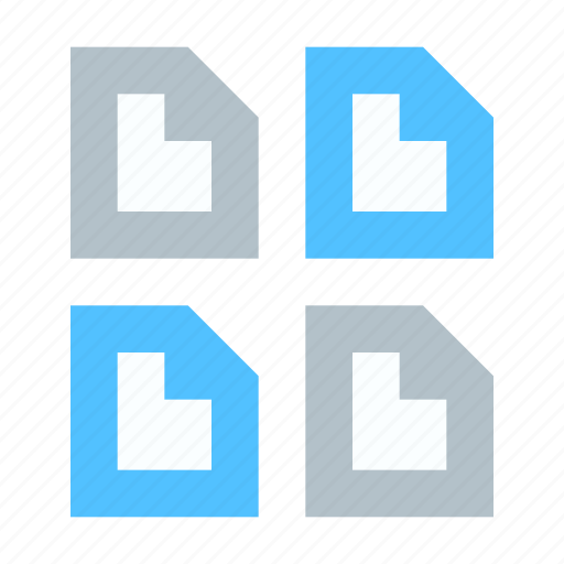 document, multiple, sheet icon