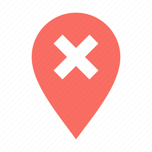 Checkpoint, delete, location icon - Download on Iconfinder