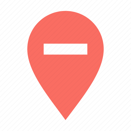 Location, delete, pin icon - Download on Iconfinder