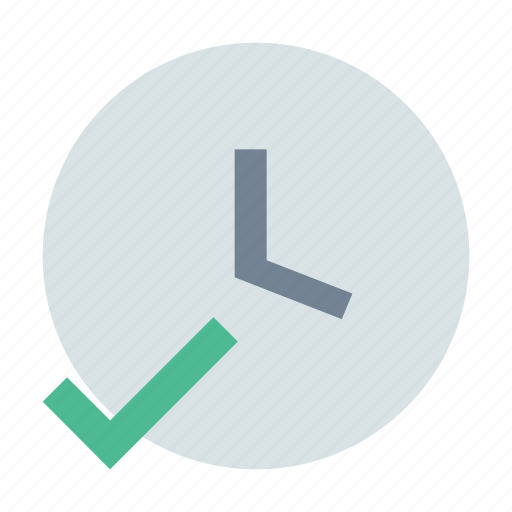 clock, complete, time icon