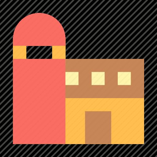 Barn, farm, silo, storage icon - Download on Iconfinder