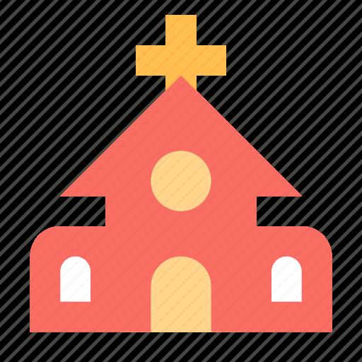 catholic, church, holy, religion icon